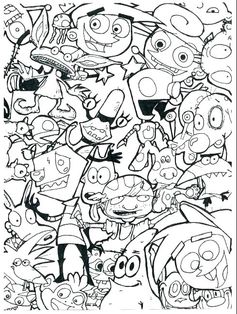 489x648 Cartoon Network Characters Coloring Pages Penguin Cartoon