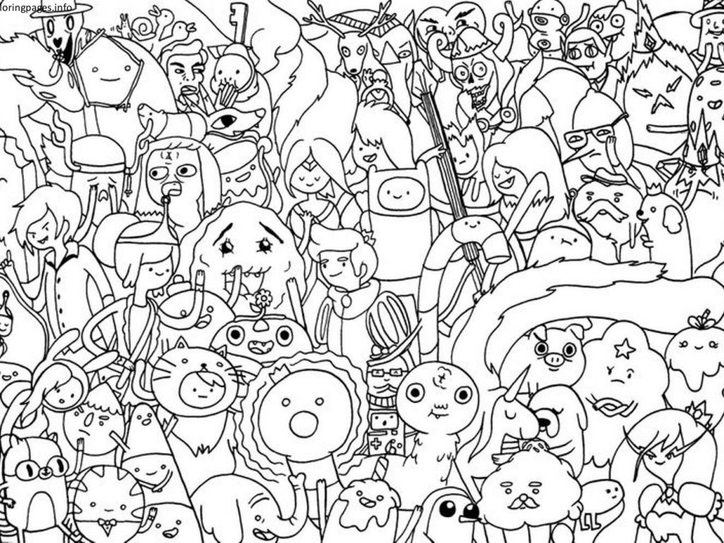 1024x768 Cartoon Network Animated Coloring Pages Funny Free Cartoons Online