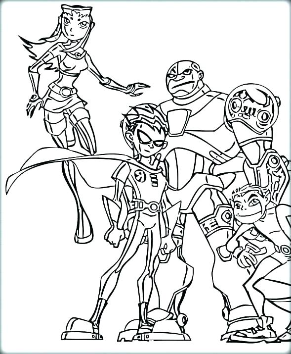 589x715 Regular Show Coloring Pages Teen Titans Color Pages Regular Show