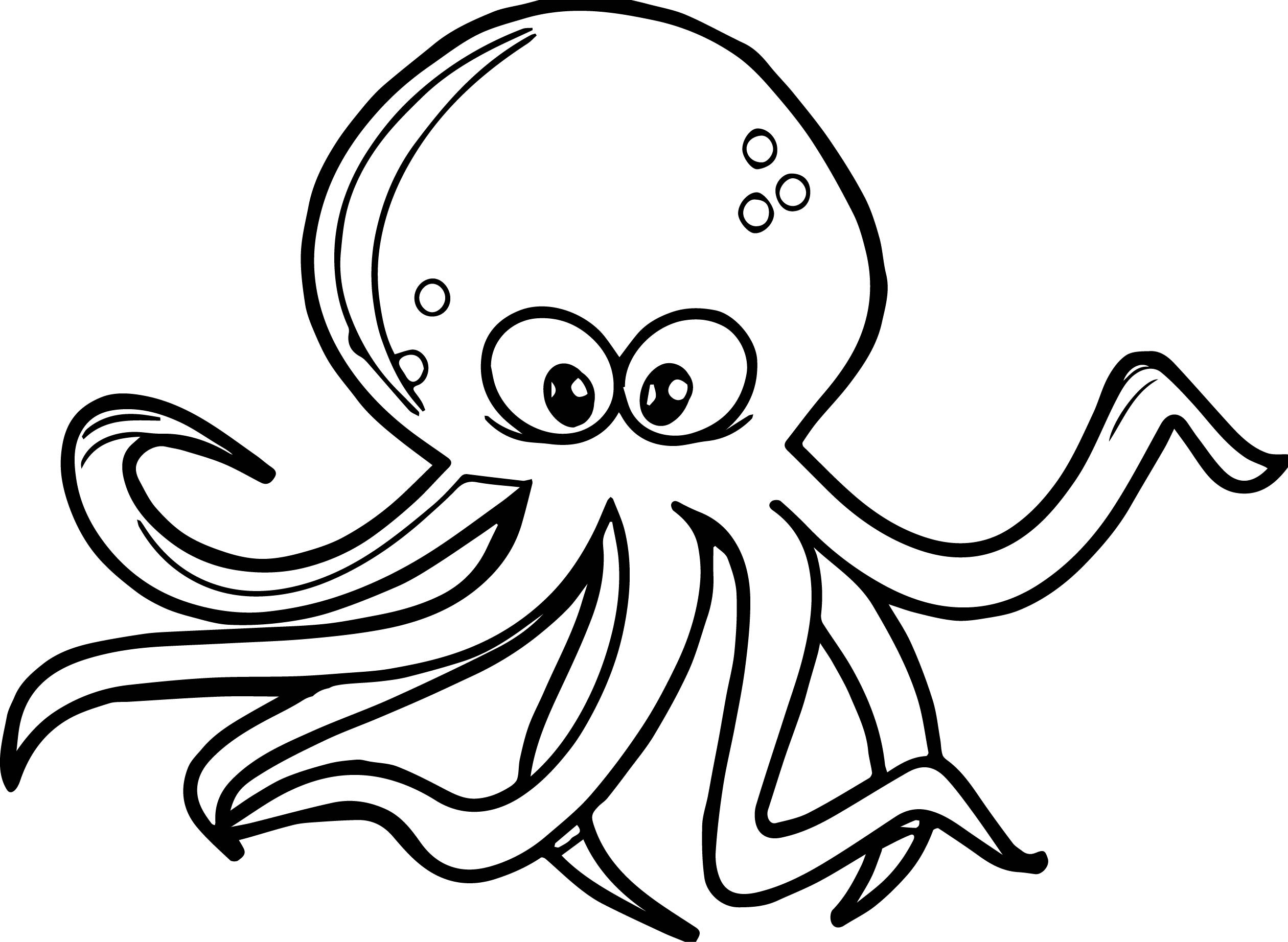 2520x1844 New Octopus Page To Color Gallery Printable Coloring Sheet