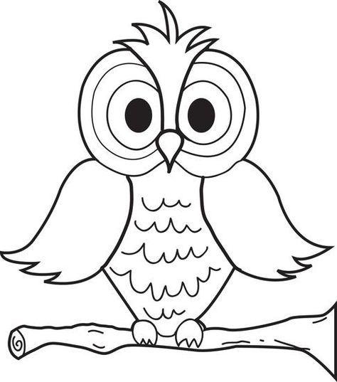 474x537 Cartoon Owl Coloring Page Cartoon Owls, Owl And Cartoon