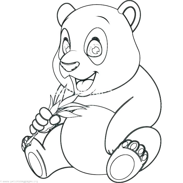 700x700 Panda Bear Coloring Pages Baby Bear Coloring Pages Panda Bear