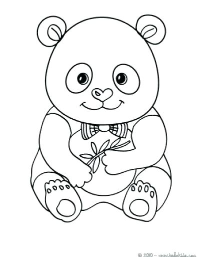 396x513 Panda Bear Coloring Pages Coloring Pages Bears Printable Valentine