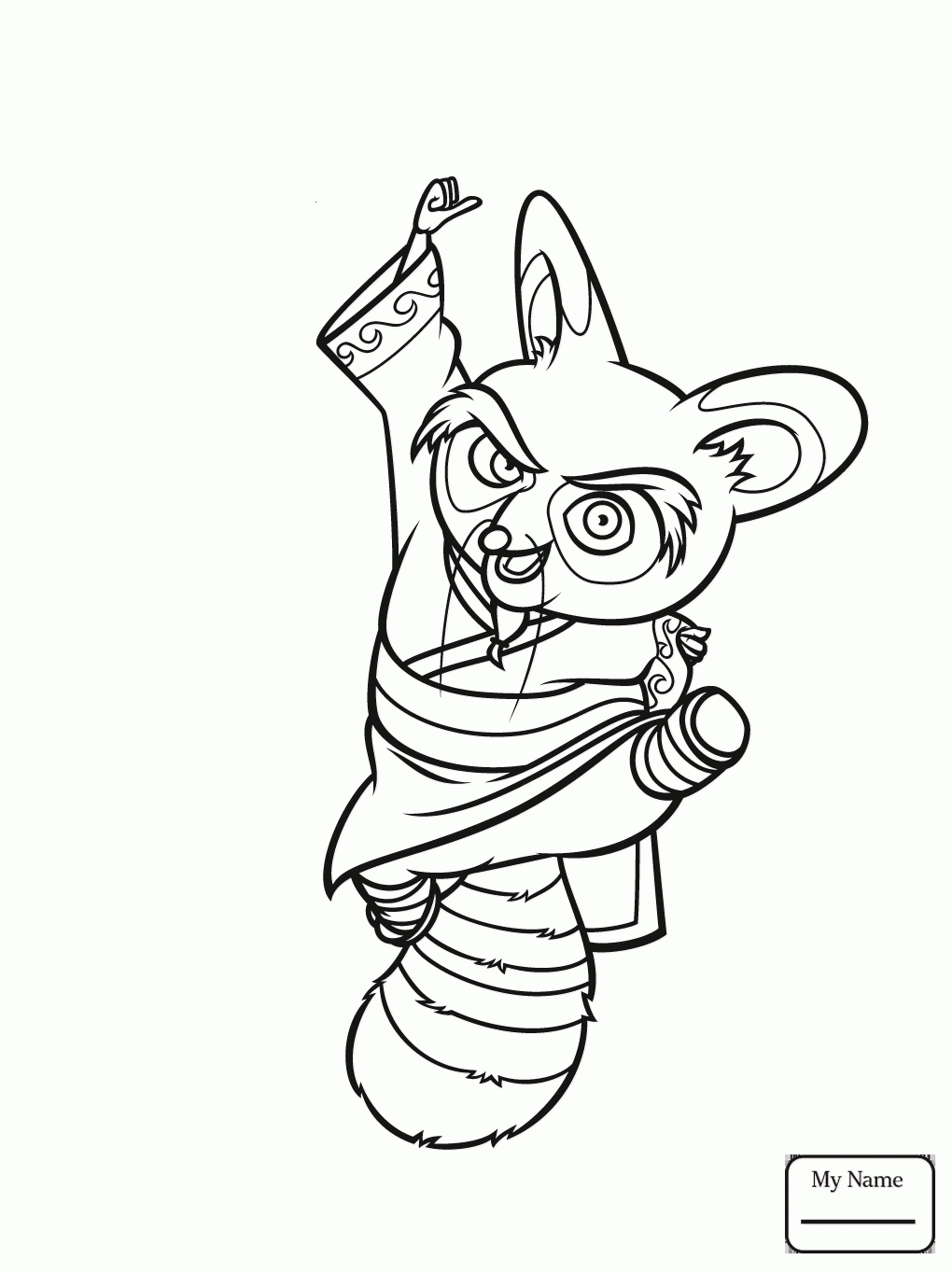 1020x1364 Awesome Kung Fu Panda Coloring Pages Collection Printable