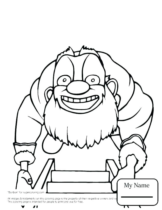 Cartoon Pictures Coloring Pages