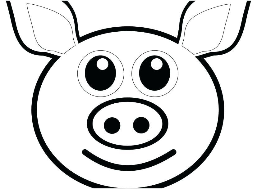 827x609 Coloring Page Of A Pig Poop Emoji Coloring Sheet As Well As Pig