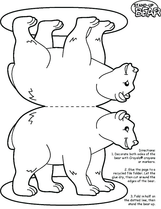 629x815 Polar Bear Coloring Pages Excellent Polar Bear Coloring Page Print