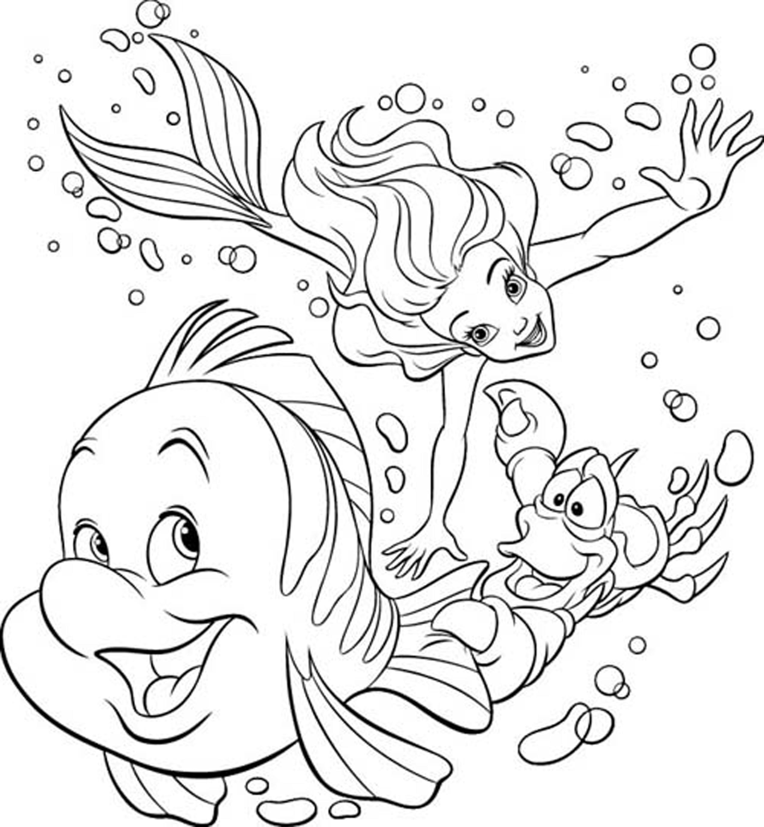 2550x2759 Beauty Cartoon Princess Coloring Pages