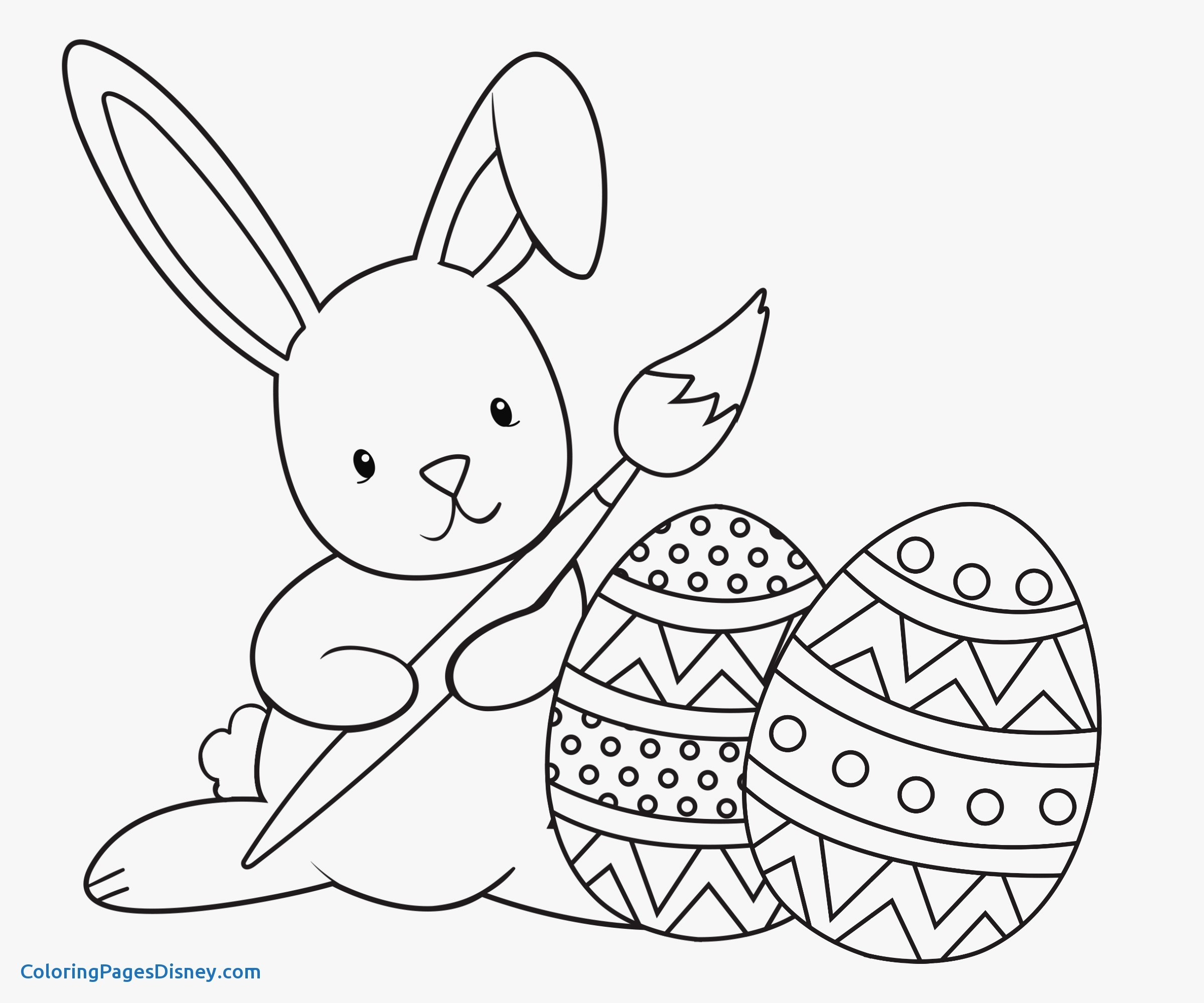 2400x2000 Lovely Rabbits Coloring Pages