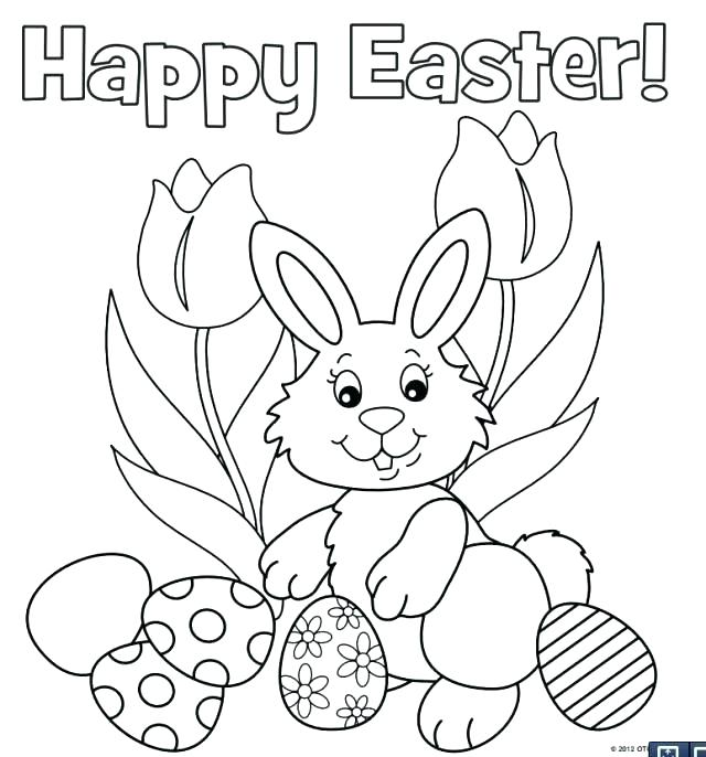 640x686 Rabbits Coloring Pages