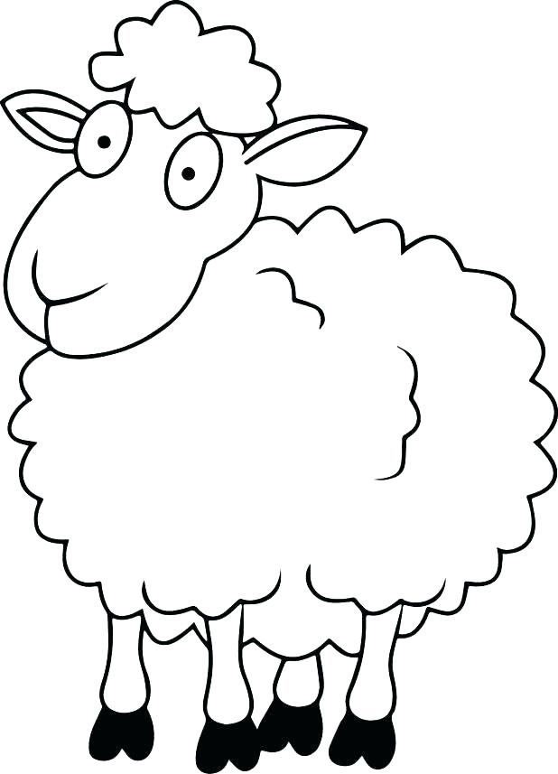618x857 Lost Sheep Coloring Page For Coloring Page Of Sheep Innovation