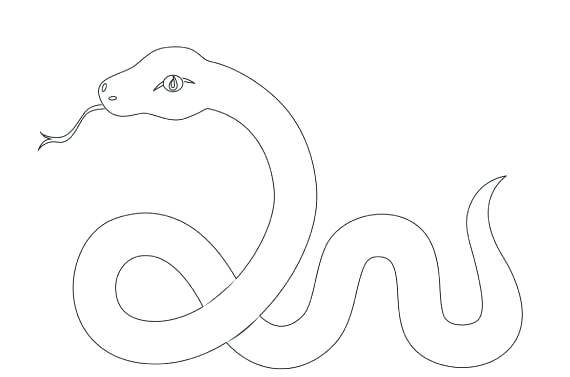 570x377 Snake Coloring Pages Free Snake Coloring Pages To Print Snake