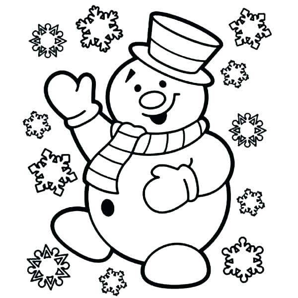 600x600 Snowman Coloring Sheets Abominable Snowman Coloring Pages Snowman