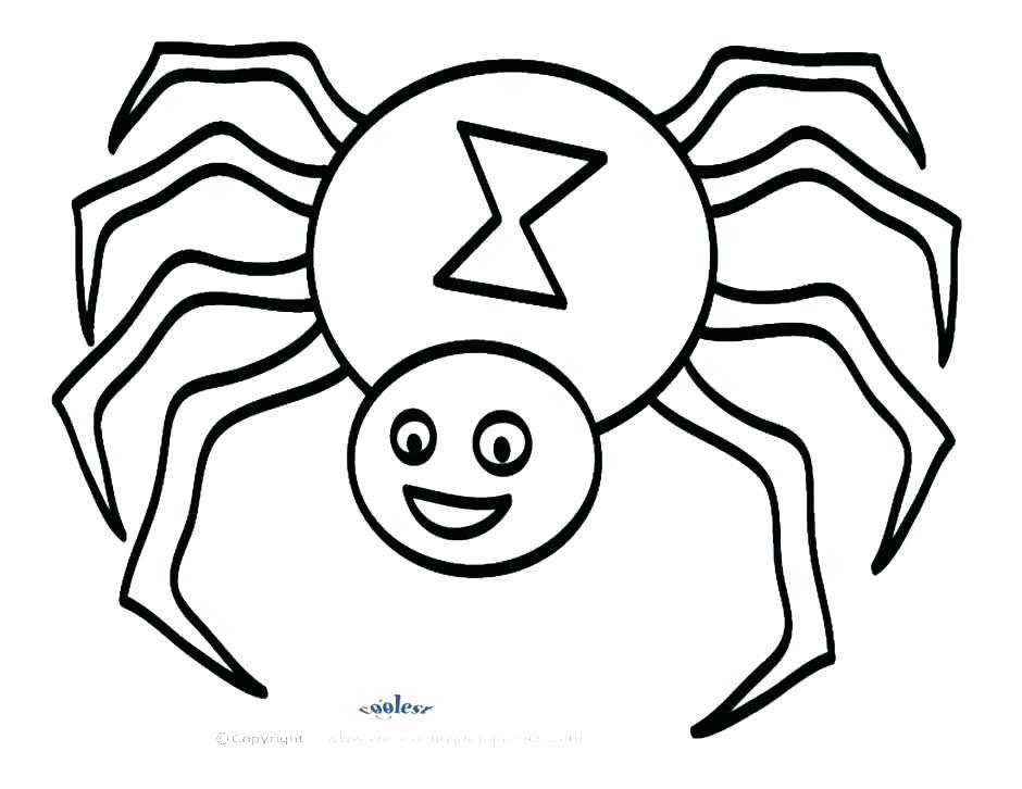 940x726 Spider Color Page Spider Web Coloring Page Printable Spider Web
