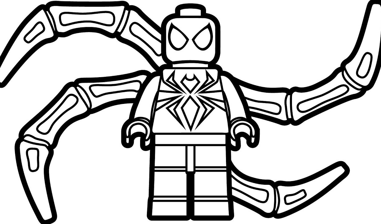 Cartoon Spiderman Coloring Pages At Getdrawings Free Download