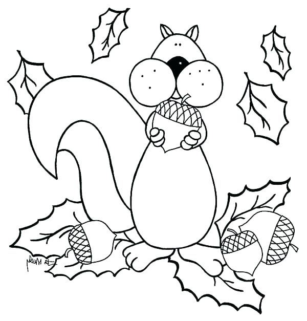 600x627 Coloring Pages Of Squirrels Coloring Page Of A Squirrel Cute