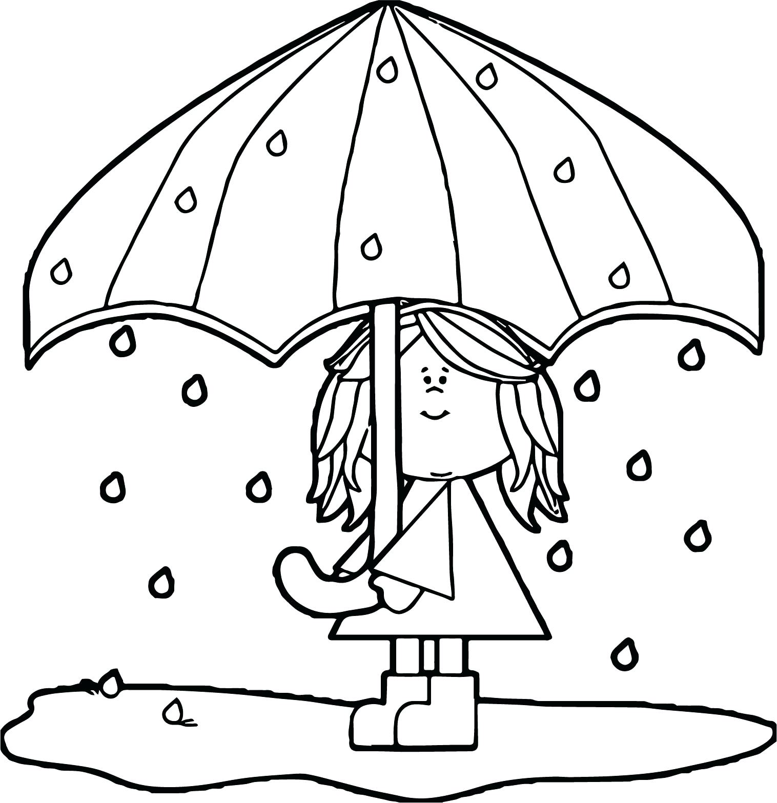1516x1567 Inspiration Coloring Pages Umbrella Coloring Page Vector