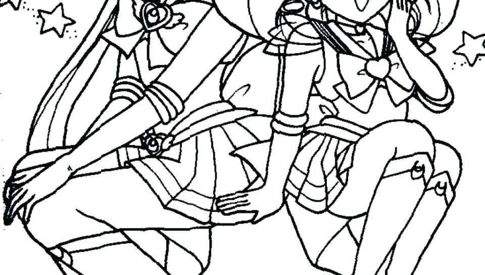 960x544 Moon Pictures To Color Coloring Pages Sailor Moon To Download Easy