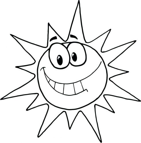 491x500 Coloring Pages Sun Coloring Page Flower Aztec Sun Coloring Page