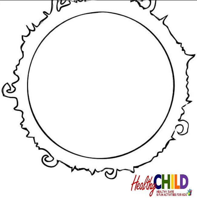 650x653 The Sun Coloring Pages