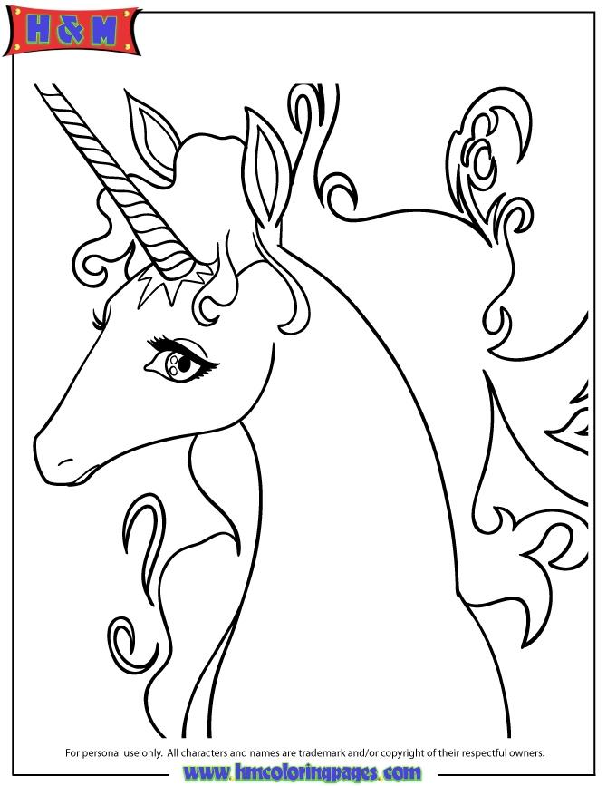 670x867 Free Unicorn Coloring Pages Elegant Cartoon Unicorns Coloring Home