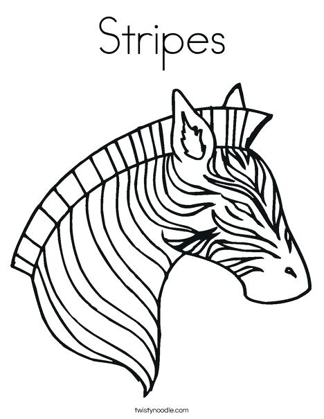 468x605 Zebra Pictures To Color Together With Zebra Color Page Z Is Zebra