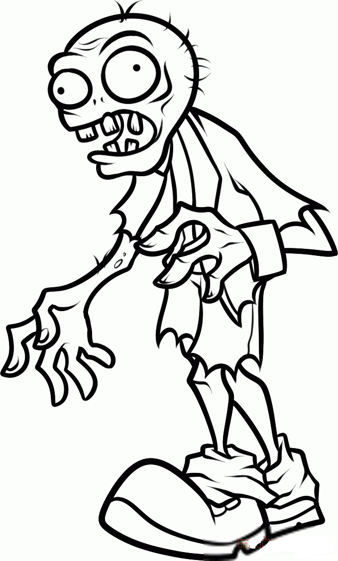 679x1127 Plants Vs Zombies Coloring Pages To Download And Print For Free