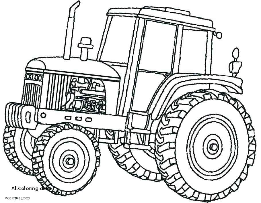 910x709 Farm Tractor Coloring Pages Page Johnny Free Online Farmer