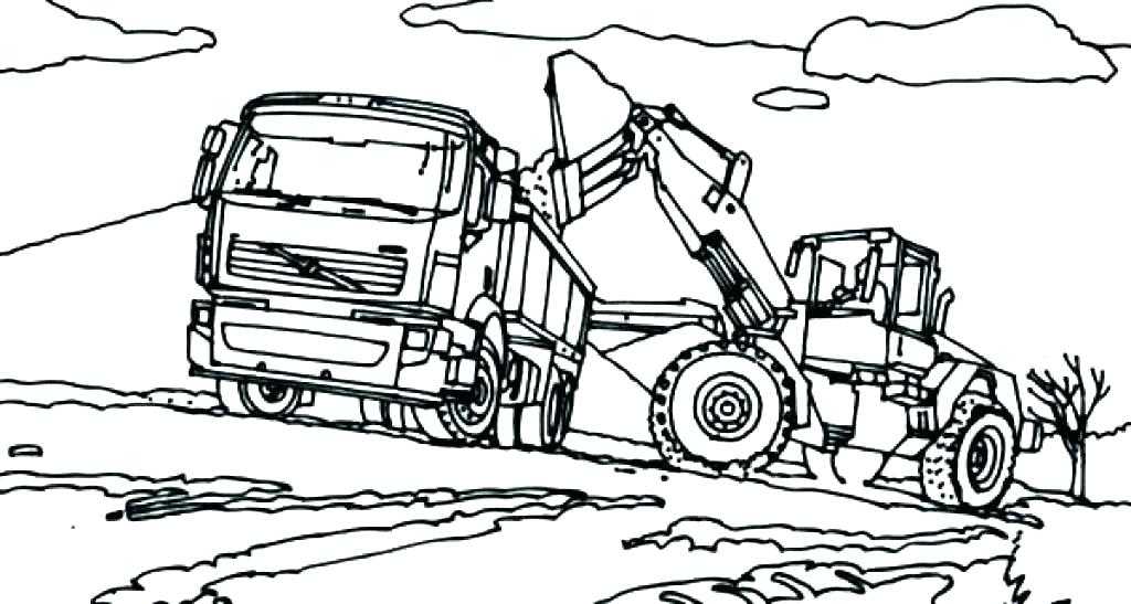 1024x547 John Deere Tractor Coloring Page Tractor Coloring Pages To Print