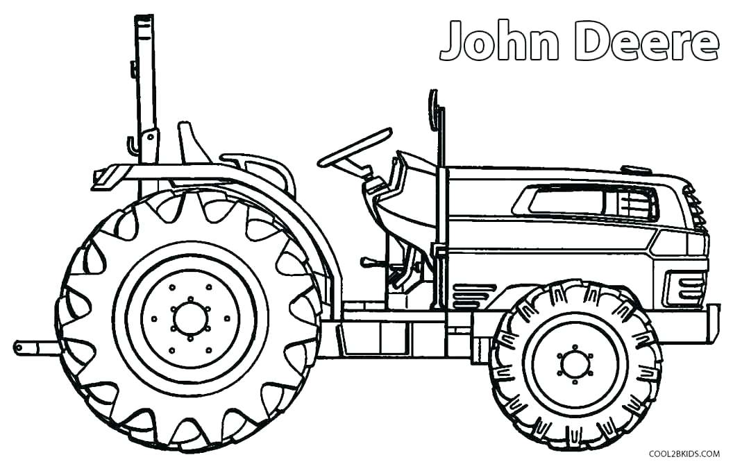 1056x669 Tractor Coloring Pages To Print Digger Picture Of Digger Tractor