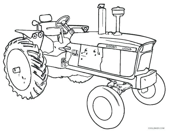Art of the Tractor Coloring Book | Octane Press | 452x580