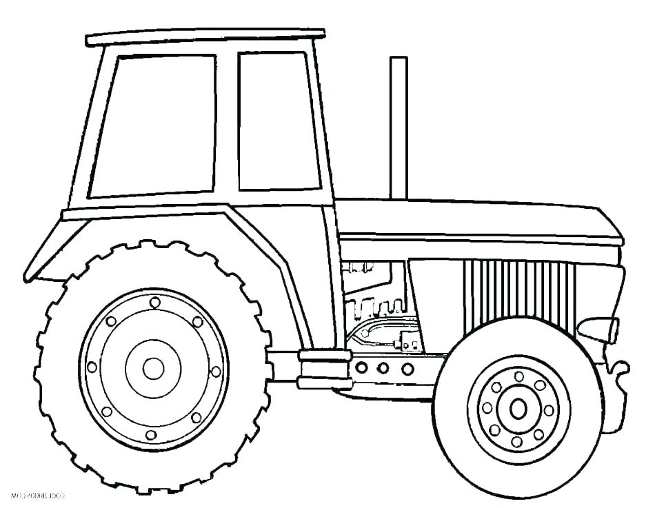 950x737 Case Tractor Coloring Pages To Print