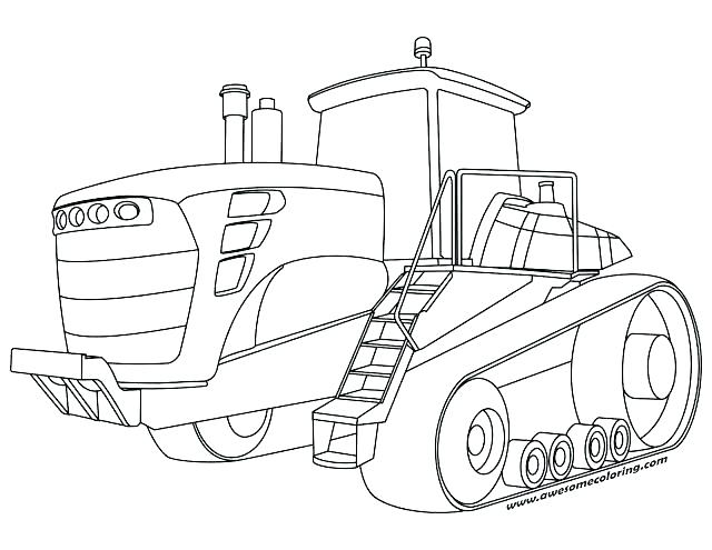 640x495 Coloring Pages Of Tractors Printable Tractor Coloring Page Free