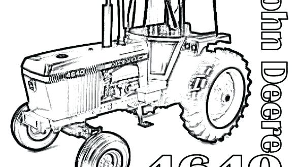 585x329 Coloring Pages Tractors John Tractor Coloring Page Pages Style