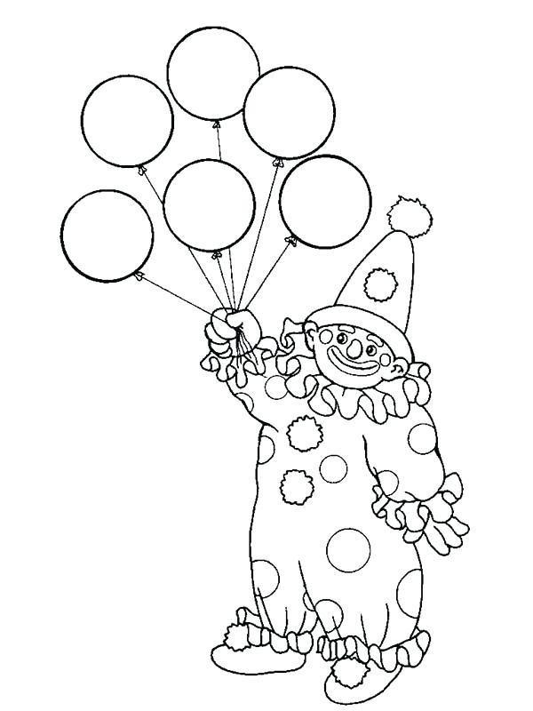 600x800 Birthday Balloon Template Printable Balloon Coloring Page Balloon