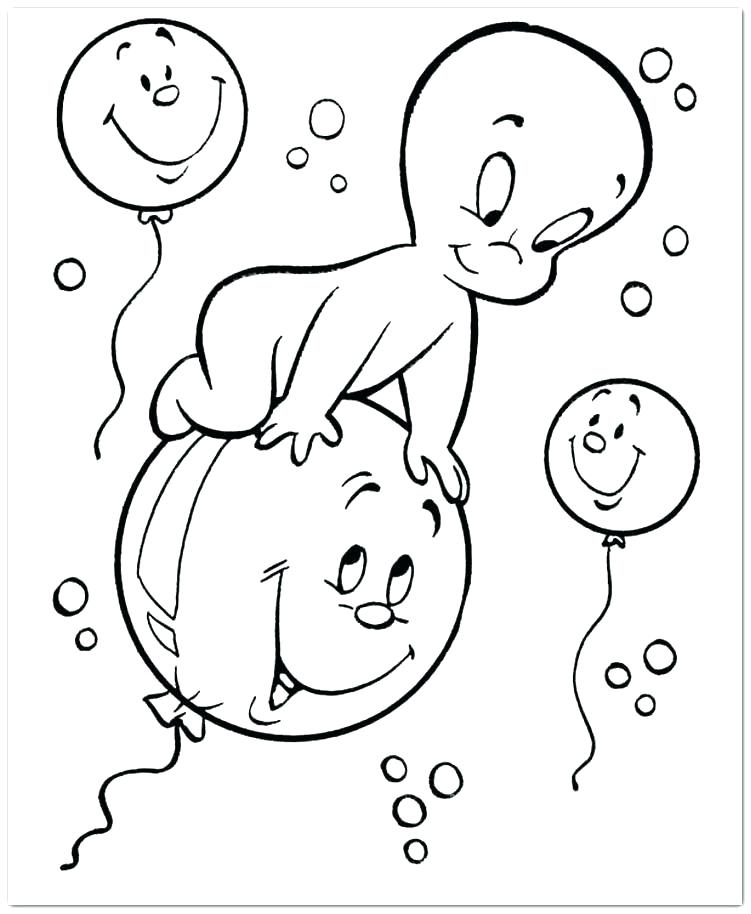 751x914 Casper Coloring Pages The Friendly Ghost Coloring Page Casper