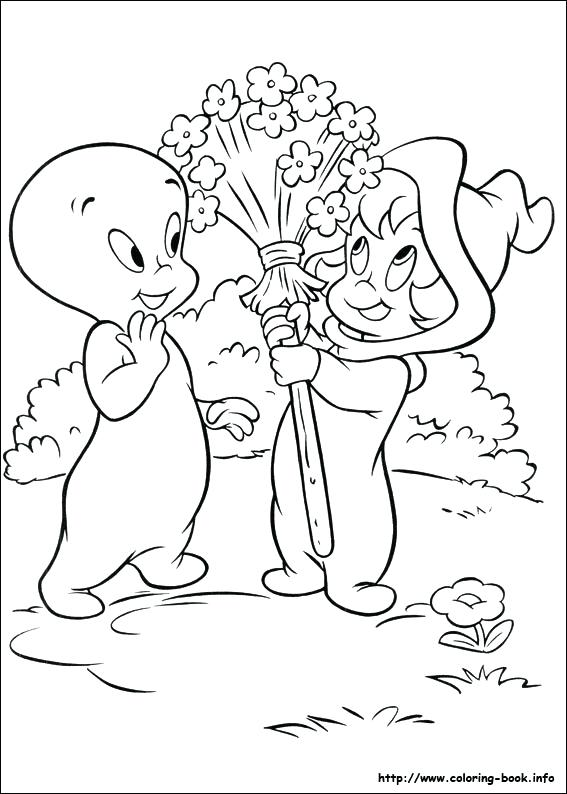 567x794 Casper Coloring Pages Casper Ghost Coloring Pages