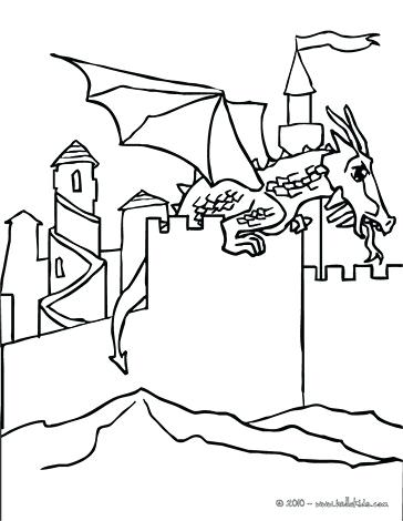 364x470 Dragon Coloring Pages And Dragon Its Back Legs Dragon Landed