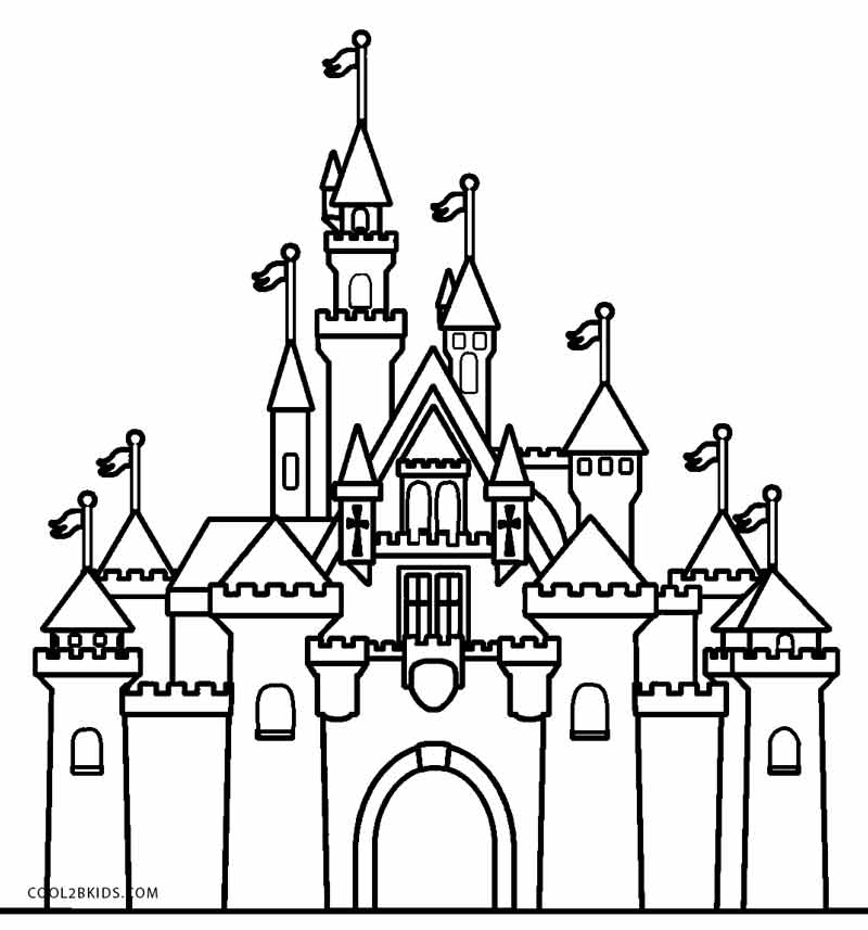 Hogwarts Castle Silhouette at GetDrawings | Free download
