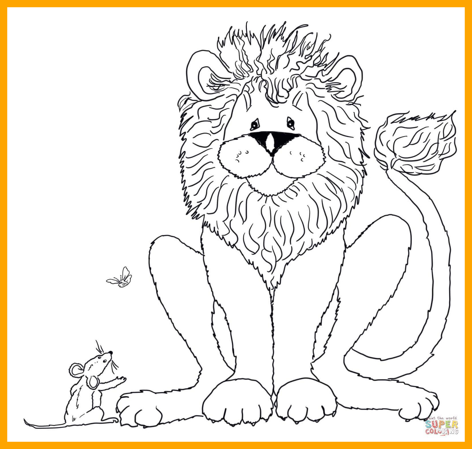 Cat And Mouse Coloring Pages
