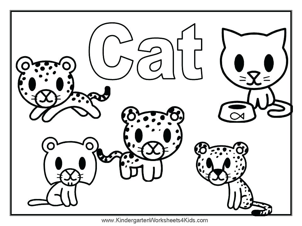 960x720 Cat And Mouse Coloring Pages Free Printable Seaweed Cats Mice Pag