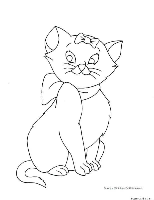 618x800 Cartoon Cat Coloring Pages Free Cat Coloring Pages Plus Cartoon