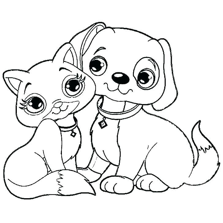 728x728 Cartoon Coloring Pages Printables Cartoon Cat Coloring Sheets Cat