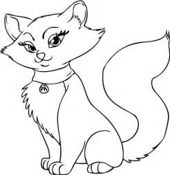 246x253 Cat Cartoon Coloring Pages