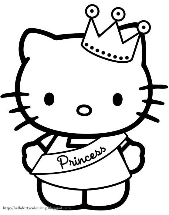 Cat Coloring Pages For Kids At Getdrawings Com Free For Personal