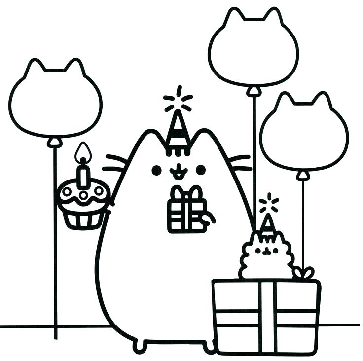 736x732 Cat Coloring Pages Free Cat Coloring Pages Awesome Cute Cat