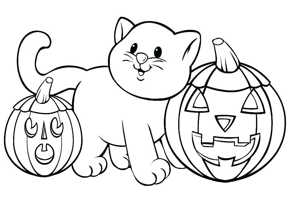 957x668 Cat Pictures To Color Also Cat Coloring Page Catwoman Coloring