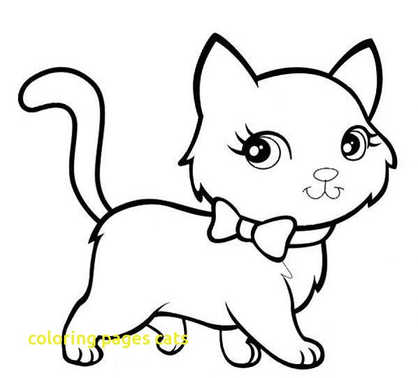 600x542 Cats Pictures To Color