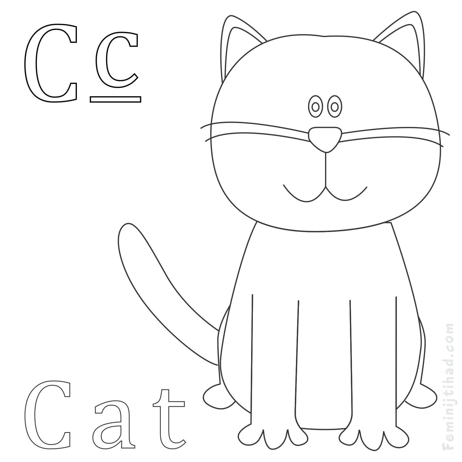 1575x1575 Cute Cat Coloring Pages Printable Coloring Pages For Kids