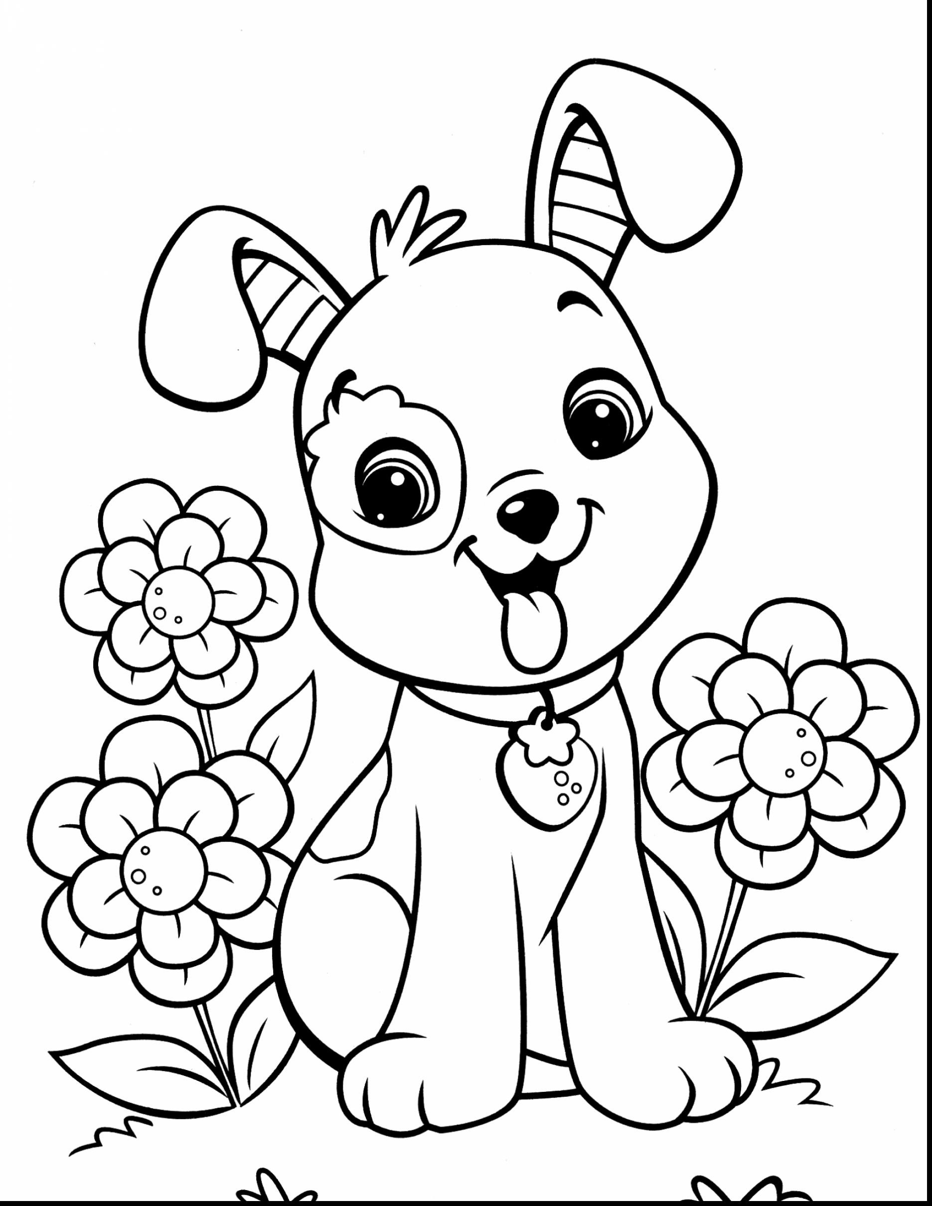 1870x2420 Dog And Cat Coloring Page Mosm